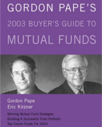 Gordon Pape's 2003 Buyer's guide to Mutual Funds image